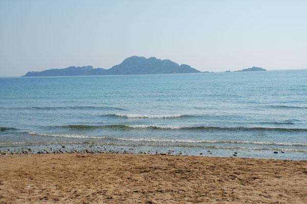 arillas in corfu island