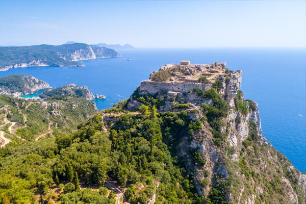 Aggelokastro Corfu